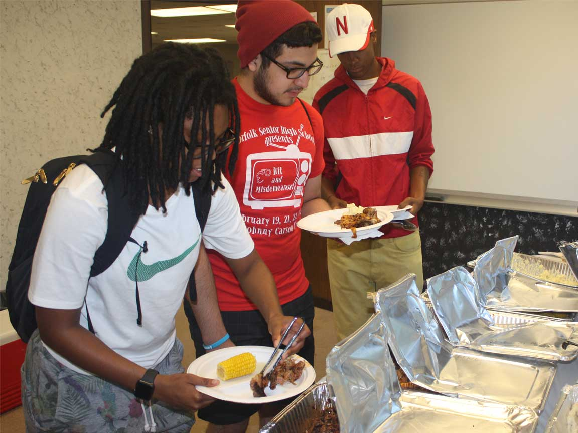 Student Support Services BBQ at UNL
