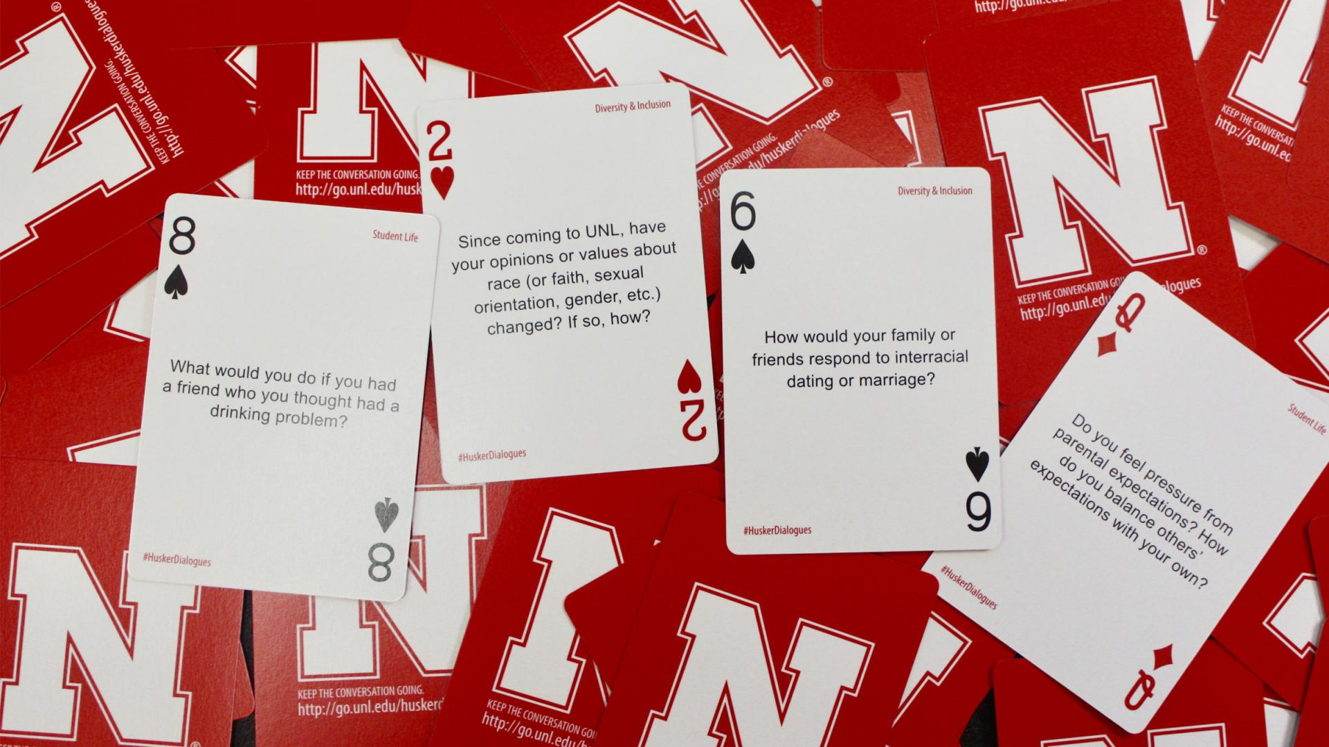 Husker Dialogues question cards