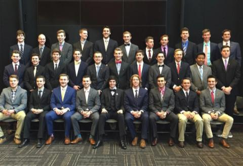 Members of Beta Theta Pi at Nebraska