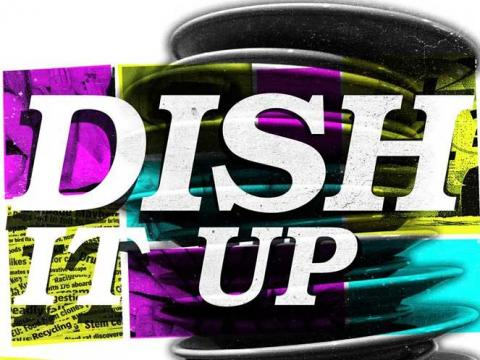 Dish It Up poster image with plates