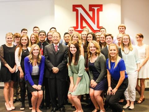 UNL students selected for Franco's List in the spring of 2016