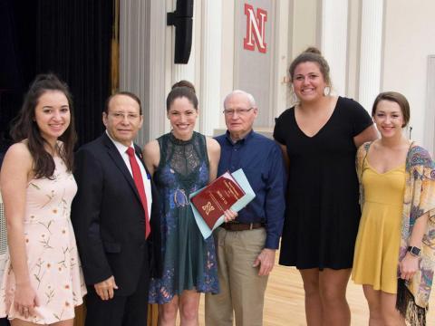 Daryl Swanson Campus Life Impact Award 2017, Hope IV Us