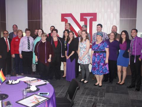 Lavender Graduate participants and award recipients 2017