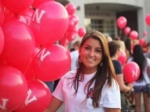Student Kelsey Koski