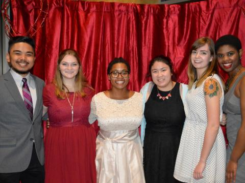 Students attend A Love Affair Gala at the University of Nebraska-Lincoln