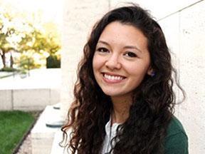 Student Carmen Ochoa