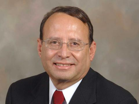 Portrait of Juan N. Franco, Vice Chancellor for Student Affairs at the University of Nebraska-Lincoln