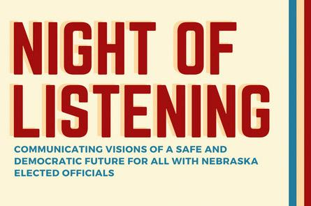 Night of Listening flyer